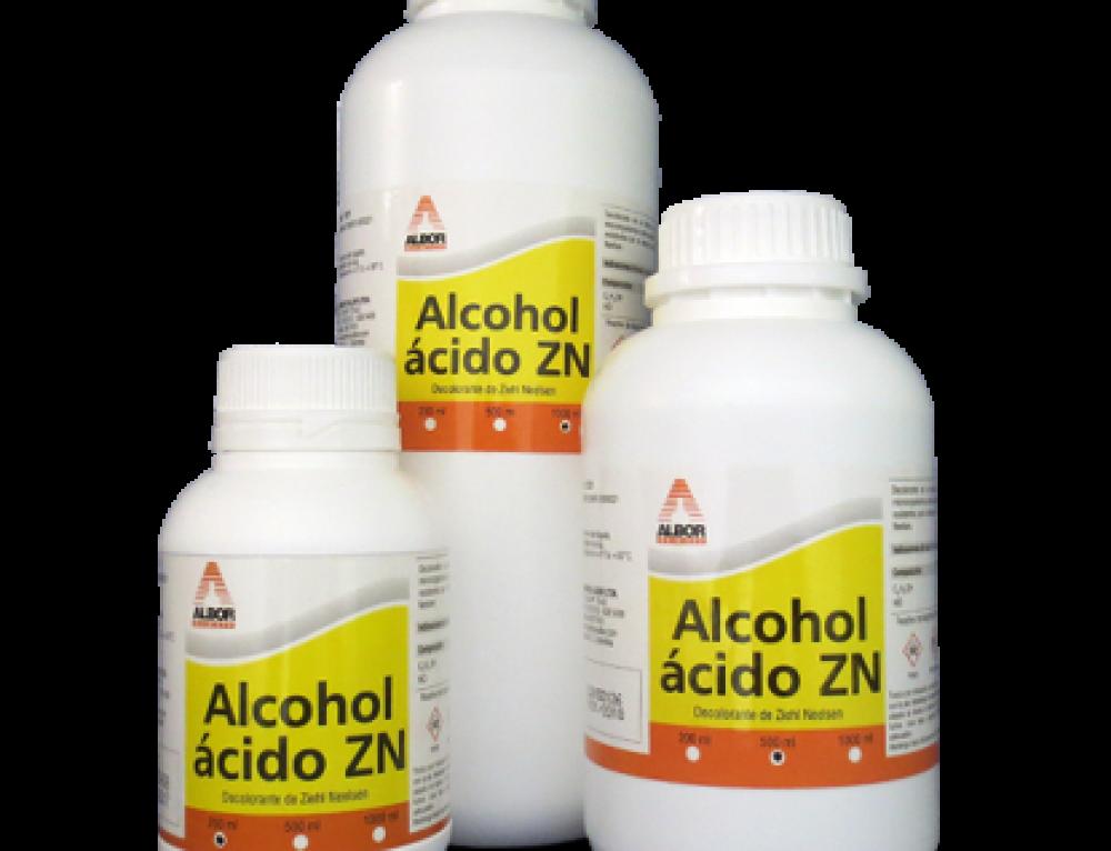 Alcohol Ácido ZN