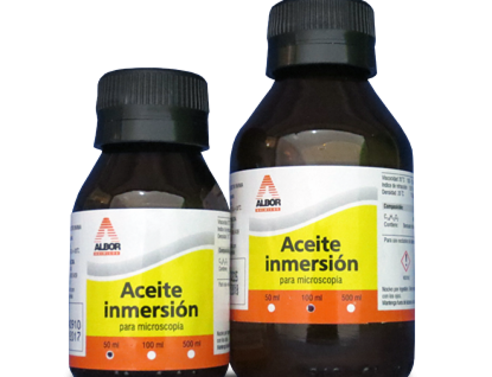 Aceite de inmersión