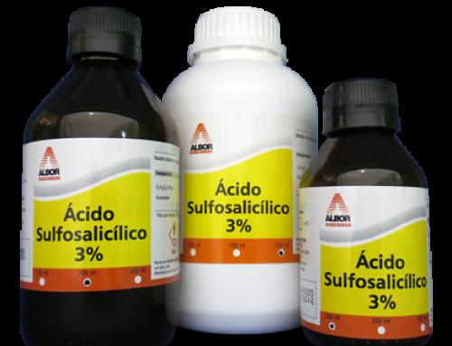 Ácido Sulfosalicílico 3%