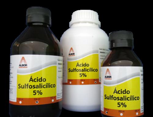 Ácido Sulfosalicílico 5%