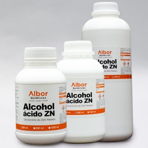 alcohol acido ZN